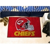 """FANMATS NFL - Kansas City Chiefs Starter Rug 19""""x30"""""""