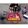 FANMATS NFL - Kansas City Chiefs Tailgater Rug 5'x6'