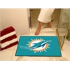 "FANMATS NFL - Miami Dolphins All-Star Mat 33.75""x42.5"""