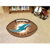 "FANMATS NFL - Miami Dolphins Football Rug 20.5""x32.5"""