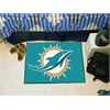 "FANMATS NFL - Miami Dolphins Starter Rug 19""x30"""