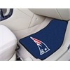 "FANMATS NFL - New England Patriots 2-piece Carpeted Car Mats 17""x27"""