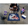 FANMATS NFL - New England Patriots Tailgater Rug 5'x6'