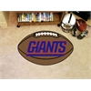"FANMATS NFL - New York Giants Football Rug 20.5""x32.5"""