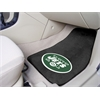 "FANMATS NFL - New York Jets 2-piece Carpeted Car Mats 17""x27"""