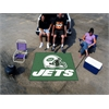 FANMATS NFL - New York Jets Tailgater Rug 5'x6'
