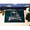 """FANMATS NFL - Philadelphia Eagles Starter Rug 19""""x30"""""""