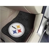 "FANMATS NFL - Pittsburgh Steelers 2-piece Carpeted Car Mats 17""x27"""