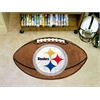 "FANMATS NFL - Pittsburgh Steelers Football Rug 20.5""x32.5"""