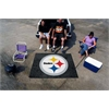 FANMATS NFL - Pittsburgh Steelers Tailgater Rug 5'x6'