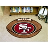 "FANMATS NFL - San Francisco 49ers Football Rug 20.5""x32.5"""