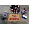FANMATS NFL - San Francisco 49ers Tailgater Rug 5'x6'