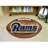 "FANMATS NFL - St. Louis Rams Football Rug 20.5""x32.5"""