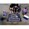 FANMATS NFL - St. Louis Rams Tailgater Rug 5'x6'