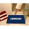"FANMATS NFL - San Diego Chargers All-Star Mat 33.75""x42.5"""