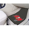 "FANMATS NFL - Tampa Bay Buccaneers 2-piece Carpeted Car Mats 17""x27"""