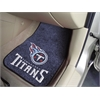 "FANMATS NFL - Tennessee Titans 2-piece Carpeted Car Mats 17""x27"""