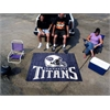 FANMATS NFL - Tennessee Titans Tailgater Rug 5'x6'