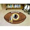 "FANMATS NFL - Washington Redskins Football Rug 20.5""x32.5"""