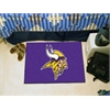 """FANMATS NFL - Minnesota Vikings Starter Rug 19""""x30"""""""