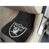 "FANMATS NFL - Oakland Raiders 2-piece Carpeted Car Mats 17""x27"""
