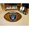 "FANMATS NFL - Oakland Raiders Football Rug 20.5""x32.5"""