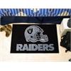 "FANMATS NFL - Oakland Raiders Starter Rug 19""x30"""
