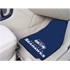 "FANMATS NFL - Seattle Seahawks 2-piece Carpeted Car Mats 17""x27"""