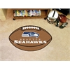 "FANMATS NFL - Seattle Seahawks Football Rug 20.5""x32.5"""