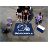 FANMATS NFL - Seattle Seahawks Tailgater Rug 5'x6'