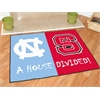 "FANMATS North Carolina - North Carolina State House Divided Rugs 33.75""x42.5"""