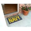 "FANMATS Navy Starter Rug 19""x30"""
