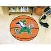 """FANMATS Notre Dame Basketball Mat 27"""" diameter"""