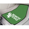 "FANMATS North Texas 2-piece Carpeted Car Mats 17""x27"""
