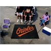 FANMATS MLB - Baltimore Orioles Tailgater Rug 5'x6'