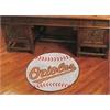 "FANMATS MLB - Baltimore Orioles Baseball Mat 27"" diameter"