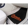 "FANMATS MLB - Baltimore Orioles 2-piece Carpeted Car Mats 17""x27"""