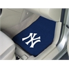 "FANMATS MLB - New York Yankees 2-piece Carpeted Car Mats 17""x27"""