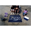 FANMATS MLB - Tampa Bay Rays Tailgater Rug 5'x6'