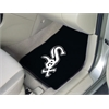 "FANMATS MLB - Chicago White Sox 2-piece Carpeted Car Mats 17""x27"""