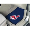 "FANMATS MLB - Cleveland Indians 2-piece Carpeted Car Mats 17""x27"""