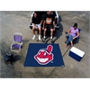 FANMATS MLB - Cleveland Indians Tailgater Rug 5'x6'