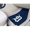 "FANMATS MLB - Detroit Tigers 2-piece Carpeted Car Mats 17""x27"""
