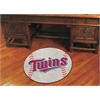 "FANMATS MLB - Minnesota Twins Baseball Mat 27"" diameter"