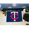 "FANMATS MLB - Minnesota Twins Starter Rug 19""x30"""
