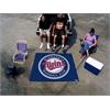 FANMATS MLB - Minnesota Twins Tailgater Rug 5'x6'