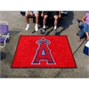 FANMATS MLB - Los Angeles Angels Tailgater Rug 5'x6'