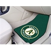 "FANMATS MLB - Oakland Athletics 2-piece Carpeted Car Mats 17""x27"""