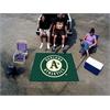 FANMATS MLB - Oakland Athletics Tailgater Rug 5'x6'
