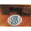 "FANMATS MLB - Seattle Mariners Baseball Mat 27"" diameter"